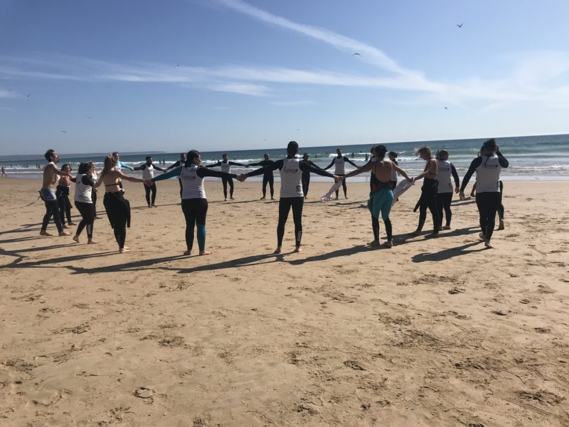 team-building à Lisbonne